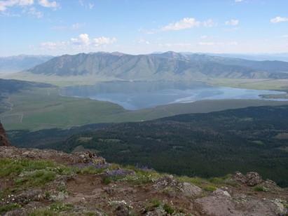 Henry's Lake from Sawtelle Peak